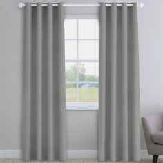 Knightsbridge Smoke Grey Made to Measure Curtains