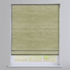 Fiji Green Roman Blind