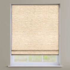 Kent Chenille Natural Roman Blind