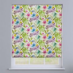 Funchal Floral Summer Multi Roman Blind
