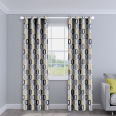Soho Ochre Made to Measure Curtains
