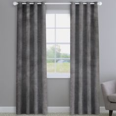 Opulence Velvet Grey Made to Measure Curtains