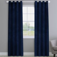Opulence Velvet Navy Blue Made to Measure Curtains