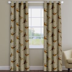 Pheasant Print Made To Measure Curtains