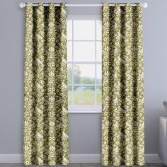 Moorland Moss Green Made To Measure Curtains