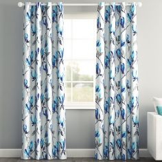 Maya Blue Made to Measure Curtains