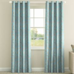 Sardinia Teal Made to Measure Curtains