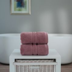 Chelsea 100% Cotton 600GSM Towel - Mauve