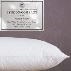 Luxury Duck Feather & Down Pillow