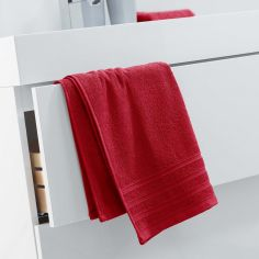 Vitamine Plain 100% Cotton Towel - Red