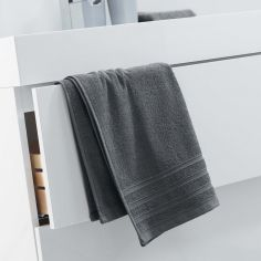 Vitamine Plain 100% Cotton Towel - Grey