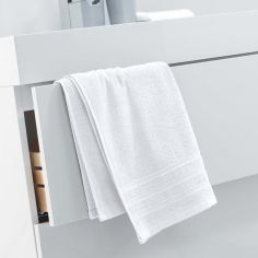 Vitamine Plain 100% Cotton Towel - White