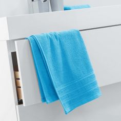 Vitamine Plain 100% Cotton Towel - Blue