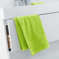 Vitamine Plain 100% Cotton Towel - Lime Green