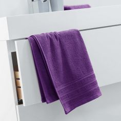 Vitamine Plain 100% Cotton Towel - Purple
