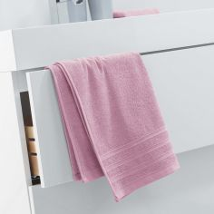 Vitamine Plain 100% Cotton Towel - Pink