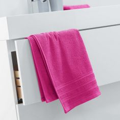 Vitamine Plain 100% Cotton Towel - Fuchsia Pink