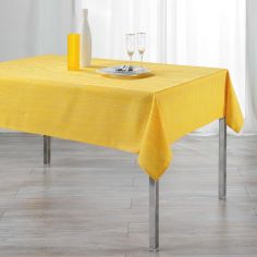 Filiane Applique Polyester Tablecloth - Honey Yellow