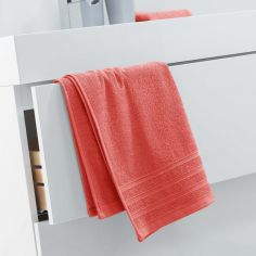 Vitamine Plain 100% Cotton Towel - Orange