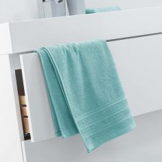 Vitamine Plain 100% Cotton Towel - Mint Blue