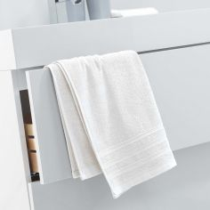 Vitamine Plain 100% Cotton Towel - Ivory