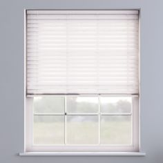 Embossed Faux Wood Venetian Blind - Arctic White
