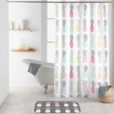 Allonanas Shower Curtain with Hooks - Multi
