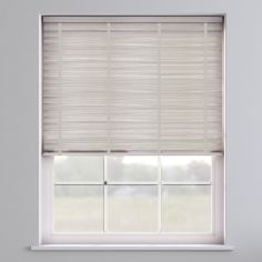 Faux Wood Venetian Blind With Tape - Granite White & Light Grey