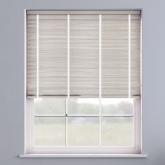 Faux Wood Venetian Blind With Tape - Granite White & White