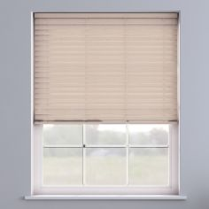 Faux Wood Venetian Blind - Lime White