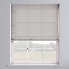 Faux Wood Venetian Blind - Pearl Grey