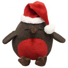 Christmas Robin Heavyweight Doorstop