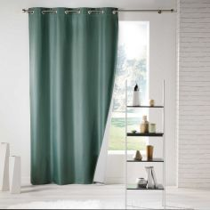 Icemount Thermal Insulating Blackout Eyelet Curtain Panel - Green