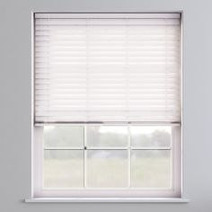 Faux Wood Venetian Blind - True White