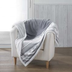 Finland Soft Sherpa Throw - Grey
