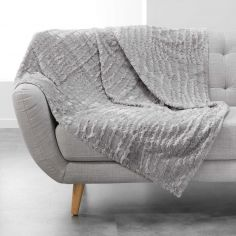 Simba Supersoft Faux Fur Throw - Grey