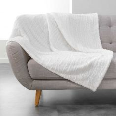 Simba Supersoft Faux Fur Throw - Ivory