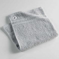 Hearty Plain Cotton Kitchen Hand Towel - Grey