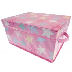 Stars Pop Up Storage Box - Pink