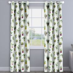 Modern Cactus Jewel Purple Made To Measure Curtains