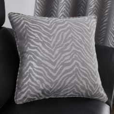Africa Textured Cushion Cover - Graphite Grey