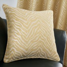 Africa Textured Cushion Cover - Ochre Yellow