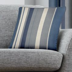 Whitworth Stripe Cushion Cover - Blue