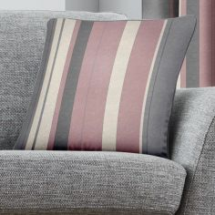 Whitworth Stripe Cushion Cover - Blush Pink