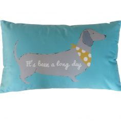 Catherine Lansfield Silly Sausage Dog Filled Cushion - Multi