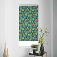 Domingo Toucan Floral Roller Blind - Multi