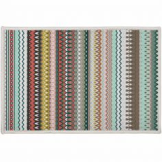 Andalouise Striped Door Mat - Multi