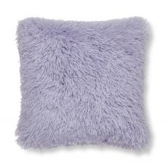 Catherine Lansfield Cuddly Cushion Cover - Lilac Purple