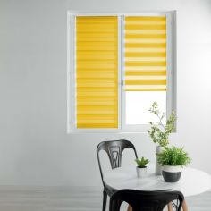 Day and Night Plain Roller Blind - Yellow