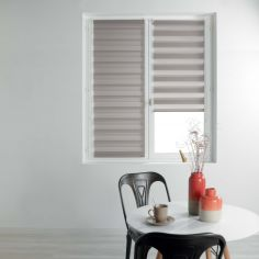 Day and Night Plain Roller Blind - Taupe